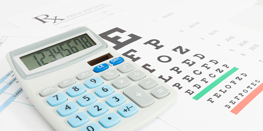 Eye health insurance billing