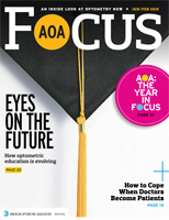 January/February 2016 AOA Focus Magazine cover