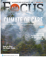 AOA Focus Magazine cover