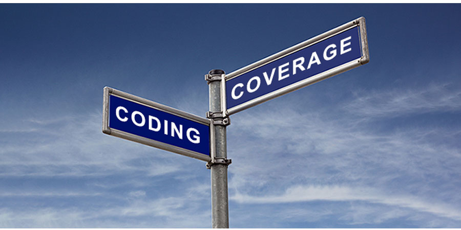 Where coding and coverage intersect