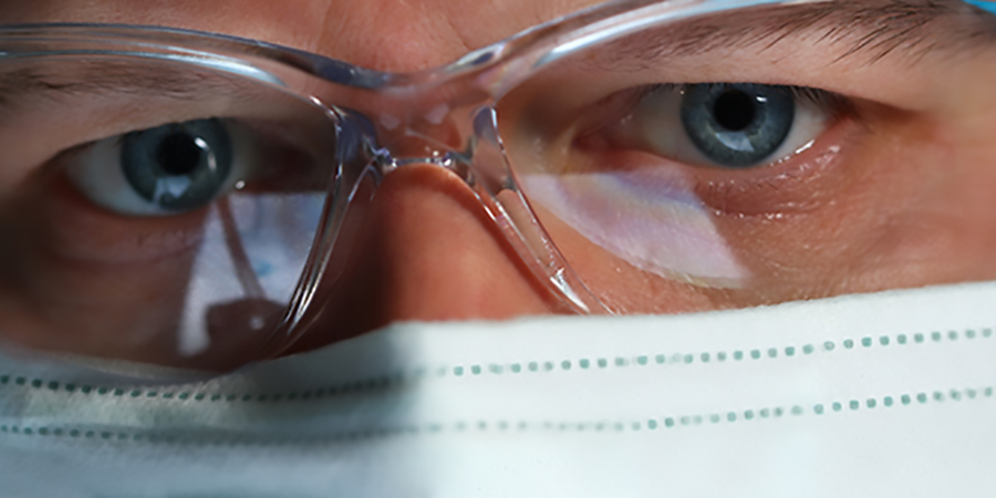 Doctors of optometry step up as pandemic sets in