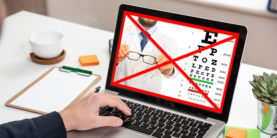 Patients need guidance on risks of online vision apps