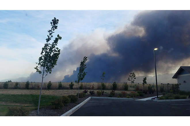 Wildfire-Medford Oregon